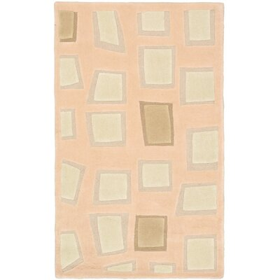 Soho Mosaic Beige Abstract Area Rug