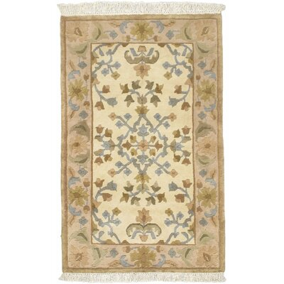 Aurora Open Field Beige Area Rug