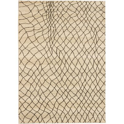 Atlas Marrakech Open Field Cream/Khaki Area Rug
