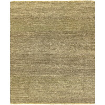 Natural Open Field Dark Brown Area Rug Rug Size: 67 x 82