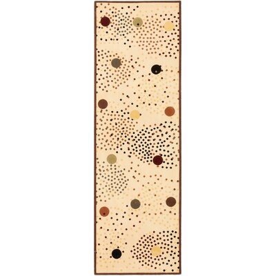 Juana Open Field Cream Outdoor Area Rug