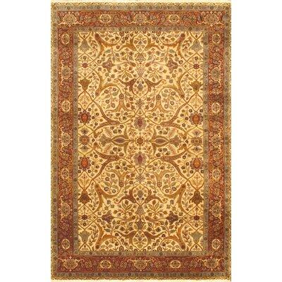 Brown/Cream Mirzapur Floral Area Rug