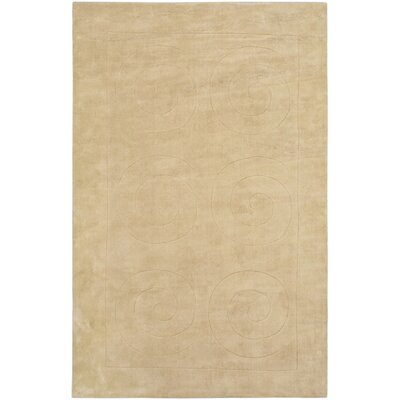 Cream Abstract Art Rug