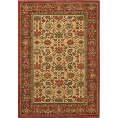 Royal Brown Open Field Area Rug