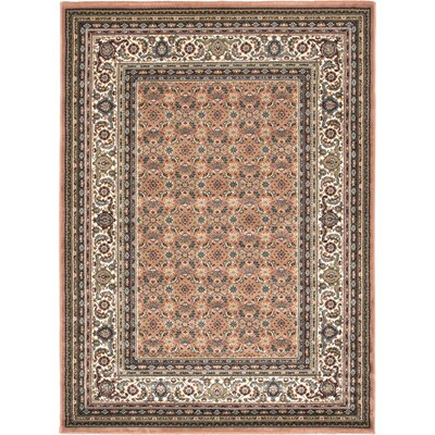 Copper Medallion Floral Rug