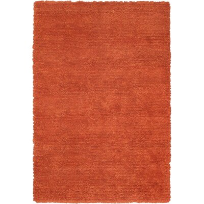 Ritz Copper Area Rug Rug Size: 67 x 910