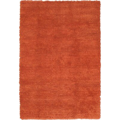 Ritz Copper Area Rug Rug Size: 57 x 710