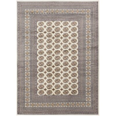 Bokhara Classic Traditional Cream Area Rug Rug Size: 311 x 53