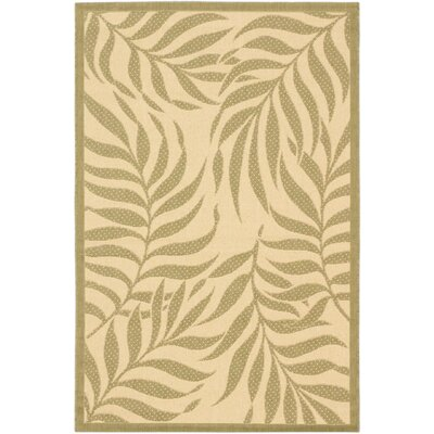 Ardane Cream Indoor/Outdoor Area Rug Rug Size: 33 x 49