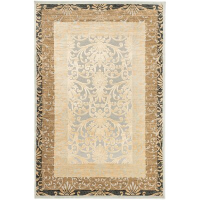 Silko Legacy Transitional Beige Area Rug