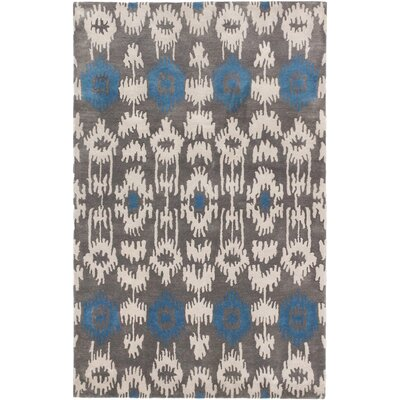 Burmuda Modern Hand Tufted Dark Gray Area Rug