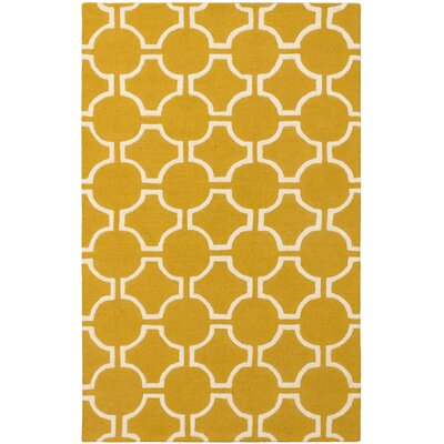 Griffing Casual Hand Tufted Cream Area Rug