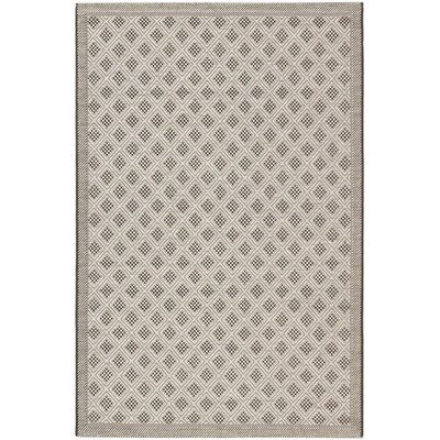 Rollins Black Indoor/Outdoor Area Rug Rug Size: 411 x 75