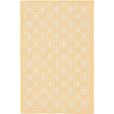 Burston Beige Indoor/Outdoor Area Rug Rug Size: Rectangle 411 x 75