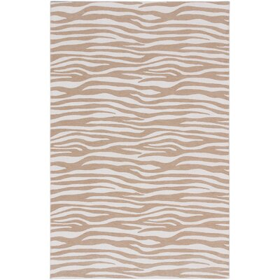 Humberto Casual Beige Area Rug Rug Size: 5 x 8