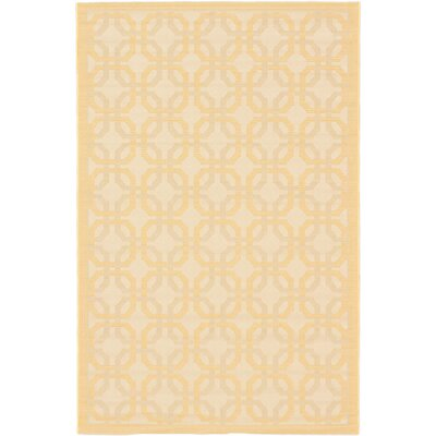 Burston Beige Indoor/Outdoor Area Rug Rug Size: 67 x 94