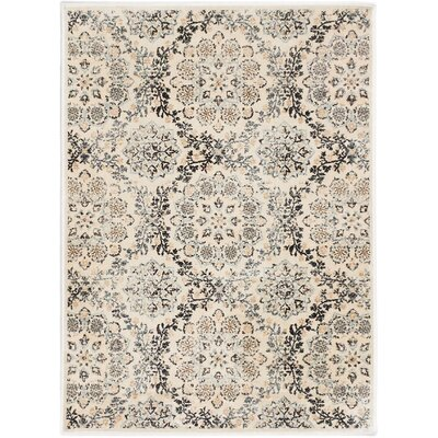 Rosalyn Transitional Beige Area Rug Rug Size: 311 x 53