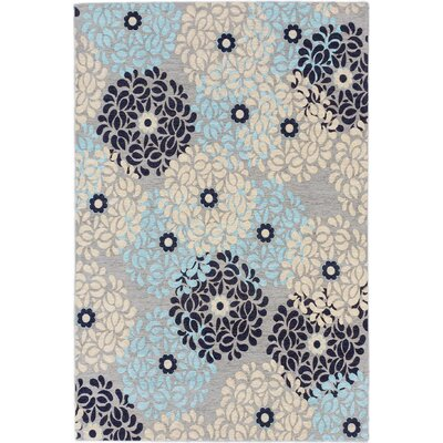 Schneider Casual Blue Area Rug Rug Size: Rectangle 4 x 6