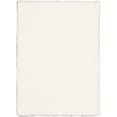 Uptown Polar White Shag Area Rug Rug Size: 310 x 57