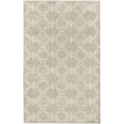 Trellis Transitional Hand Tufted Cream Area Rug