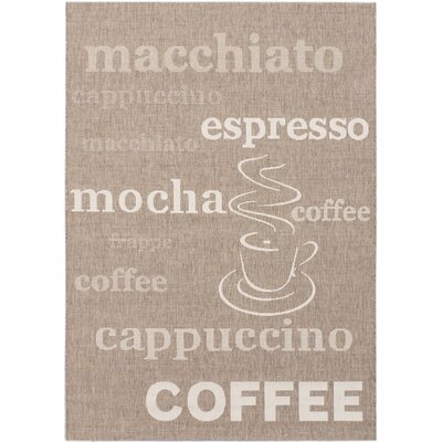 Cafe Mocha  Dark Khaki Area Rug Rug Size: 311 x 57