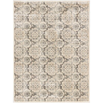 Rosalyn Transitional Beige Area Rug Rug Size: Rectangle 710 x 102
