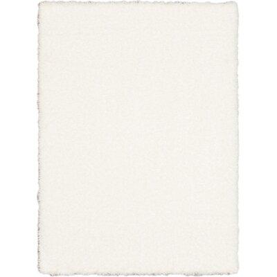 Uptown Polar White Shag Area Rug Rug Size: 710 x 102