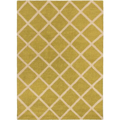 Griffing Transitional Hand Tufted Beige Area Rug