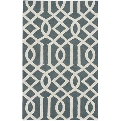 Griffing Transitional Hand Tufted Cream Area Rug