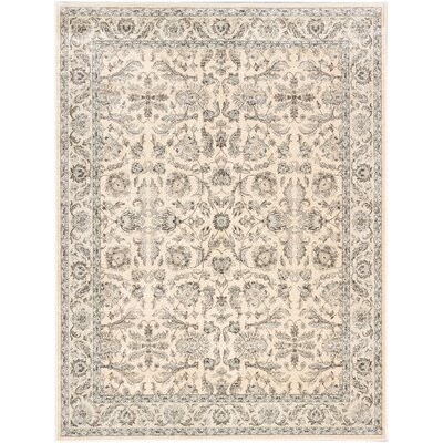 Prescilla Traditional Champagne Area Rug Rug Size: Rectangle 710 x 102