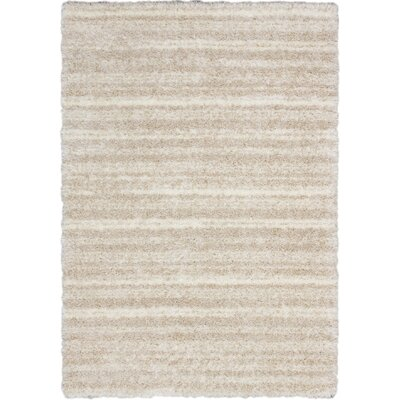 Yeti Shag Champagne Area Rug Rug Size: Rectangle 53 x 73