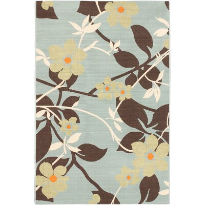 Tropicana Dark Beige Indoor/Outdoor Area Rug Rug Size: 67 x 95