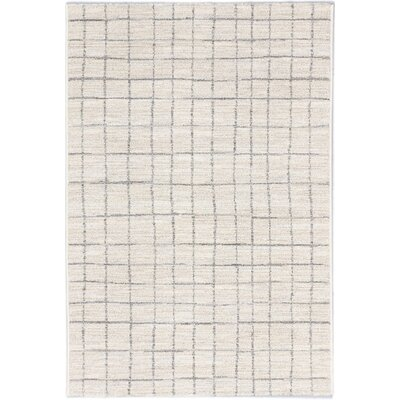 Noto Transitional Beige Area Rug Rug Size: Rectangle 53 x 73