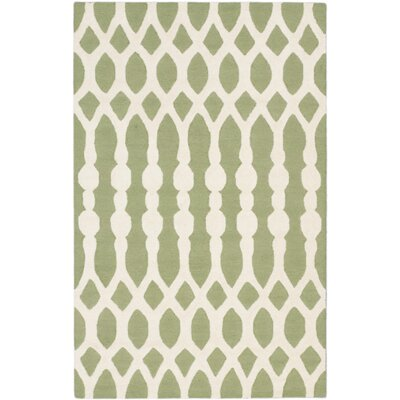 Kasbah Transitional Hand Tufted Cream Area Rug