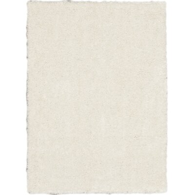 Uptown Ivory Shag Area Rug Rug Size: 310 x 57