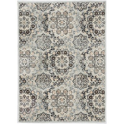 Rosalyn Transitional Light Gray Area Rug Rug Size: Rectangle 311 x 53