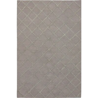 Diamond Chic Transitional Flat Woven Kilim Gray Area Rug Rug Size: 6 x 9