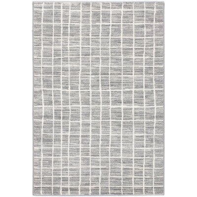 Noto Transitional Cream Area Rug Rug Size: 53 x 73