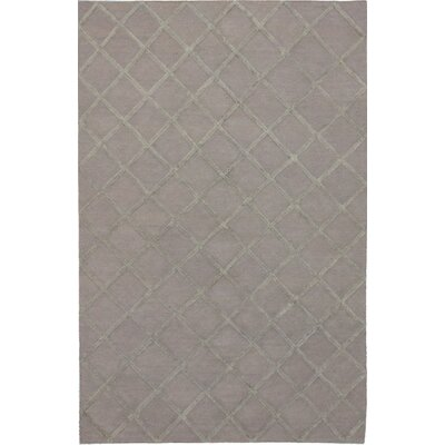 Bonhill Transitional Flat Woven Kilim Gray Area Rug Rug Size: Rectangle 8 x 10