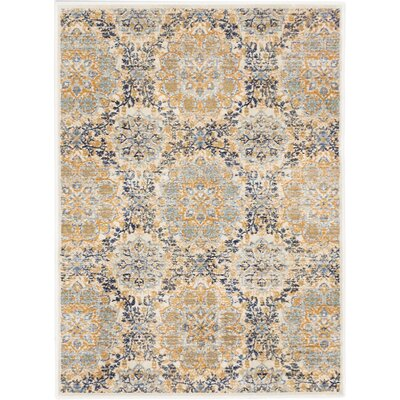 Rosalyn Transitional Champagne Area Rug Rug Size: Rectangle 311 x 53