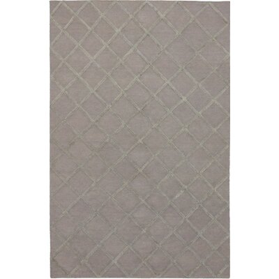 Bonhill Transitional Flat Woven Kilim Gray Area Rug Rug Size: Rectangle 9 x 12