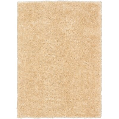 Uptown Champagne Shag Area Rug Rug Size: 310 x 57