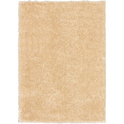 Uptown Champagne Shag Area Rug Rug Size: 710 x 102