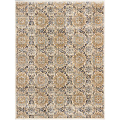 Rosalyn Transitional Champagne Area Rug Rug Size: Rectangle 710 x 102
