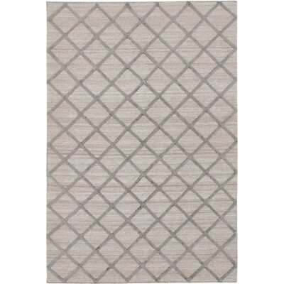 Diamond Chic Khaki Gray Area Rug Rug Size: 9 x 12