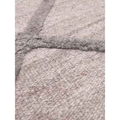 Diamond Chic Khaki Gray Area Rug Rug Size: Rectangle 9 x 12