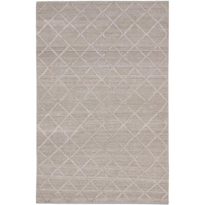 Diamond Chic Transitional Flat Woven Kilim Dark Camel Area Rug Rug Size: 6 x 9