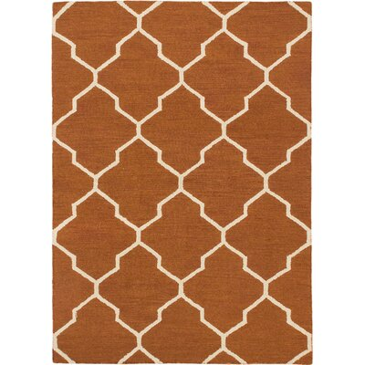 Hartland Transitional Hand Tufted Brown Area Rug