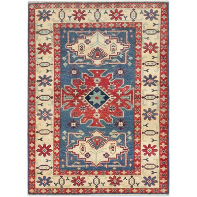 Finest Gazni Hand-Knotted Dark Faded Area Rug