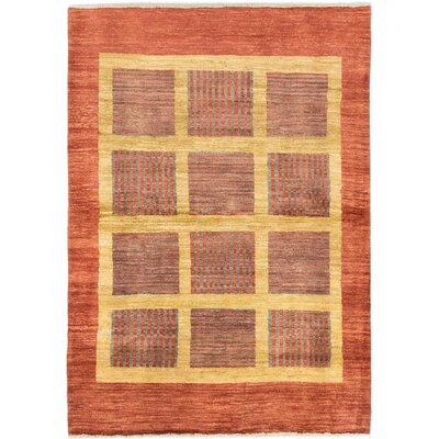 Peshawar Ziegler Hand-Knotted Copper Area Rug
